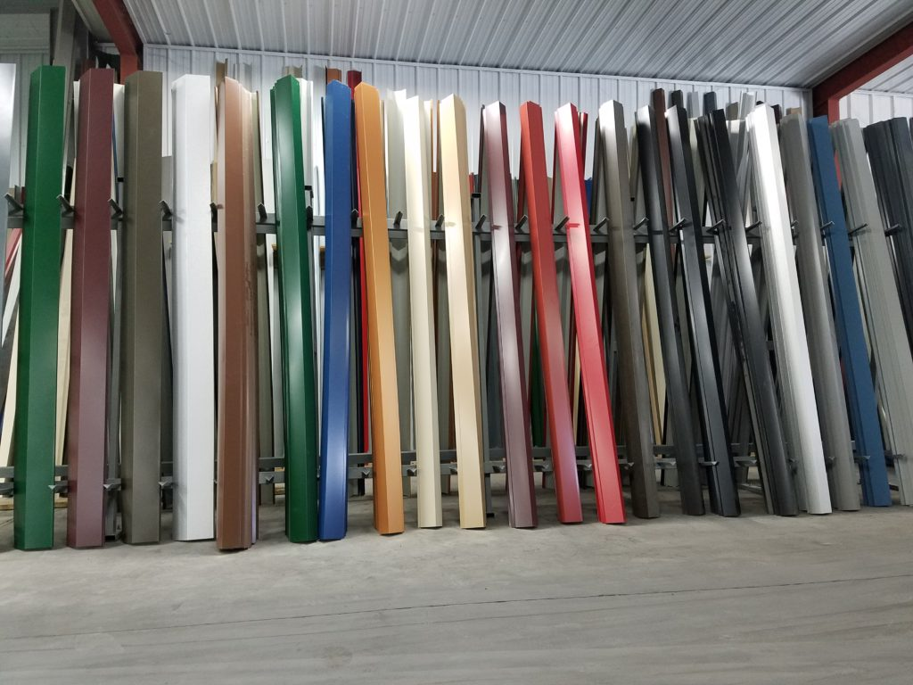 Manufactured Metal Roofing Panels